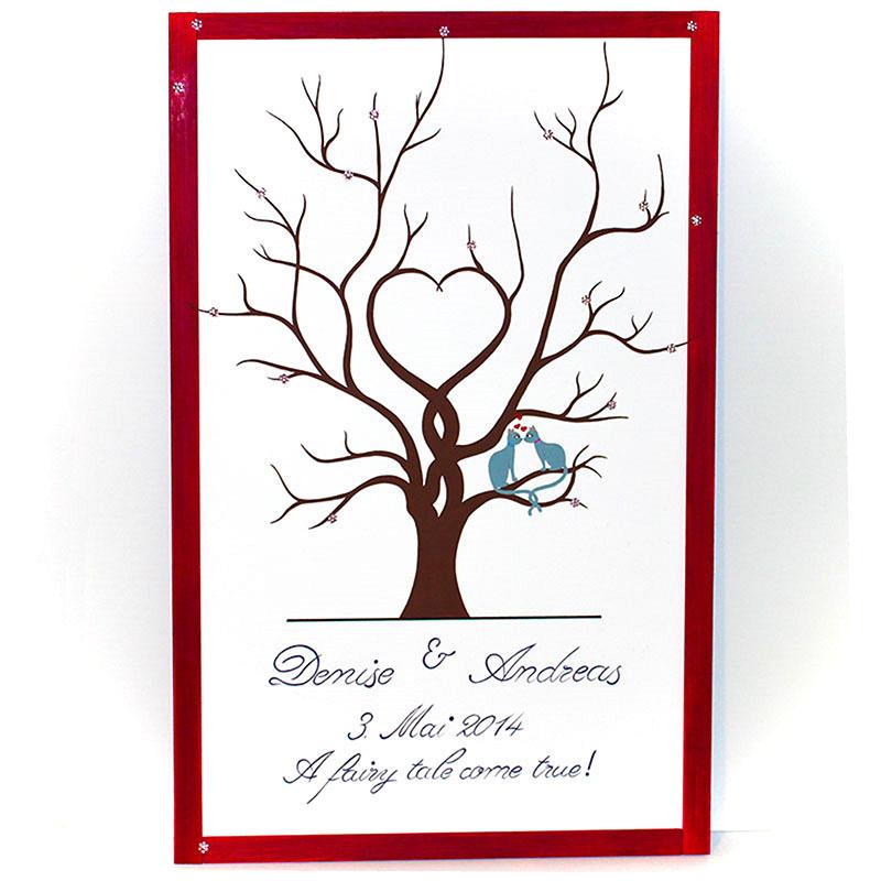Hochzeitsbaum Nr.1 (gefärbter Rahmen) - WiegandArt & SonnenStich ...
